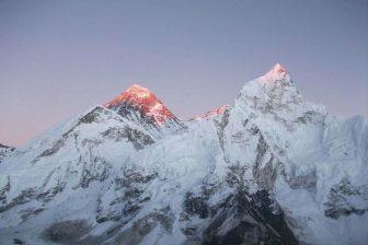 The trek offers grand views of the three highest 8000m mountain range from Mt. Everest, Mt. Lhotse and Mt. Makalu mountain range